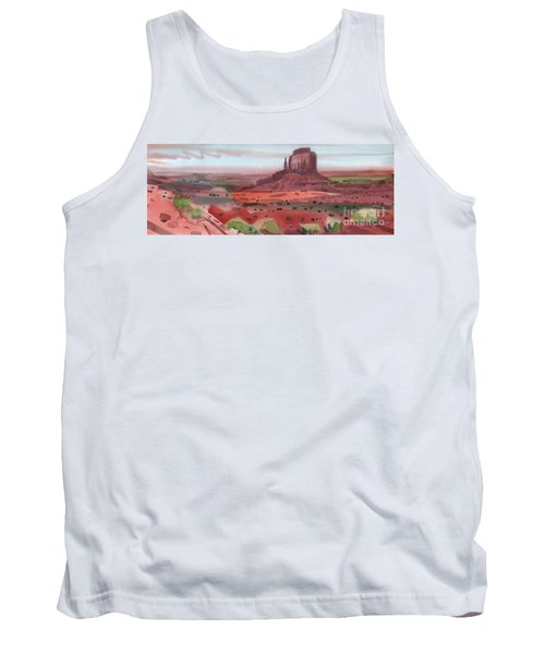 Right Mitten Panorama Tank Top by Donald Maier