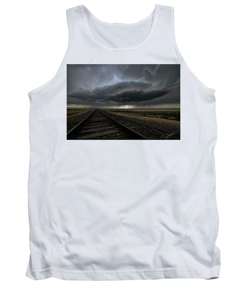 Right On Track Tank Top