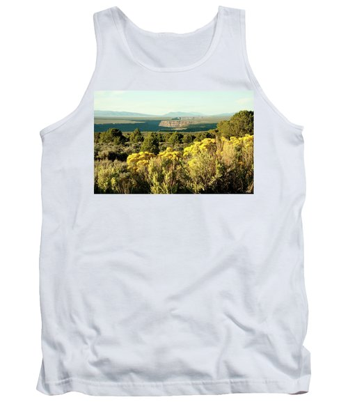 Tank Top featuring the photograph Rio Grande Gorge by Jim Arnold