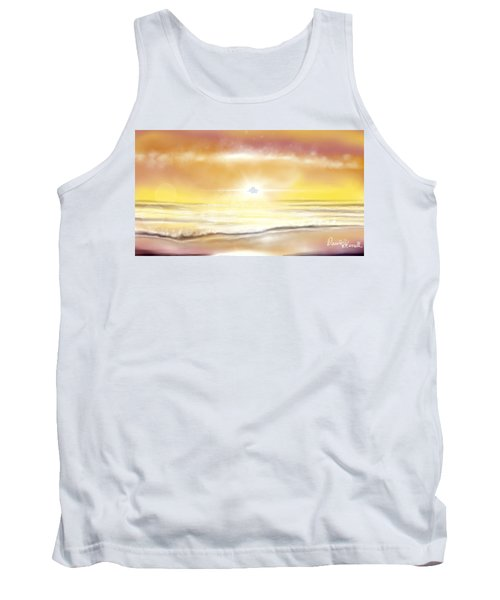 Rise And Shine Tank Top by Dawn Harrell