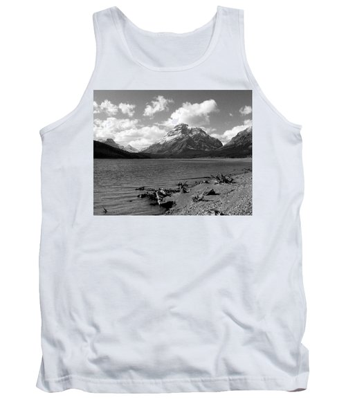 Rising Wolf, Two Med Shoreline Tank Top