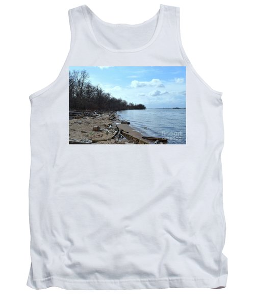 Delaware River Shoreline Tank Top