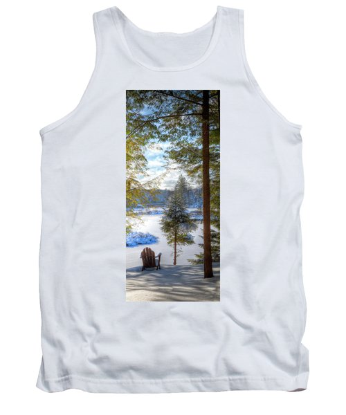 River View Tank Top by David Patterson