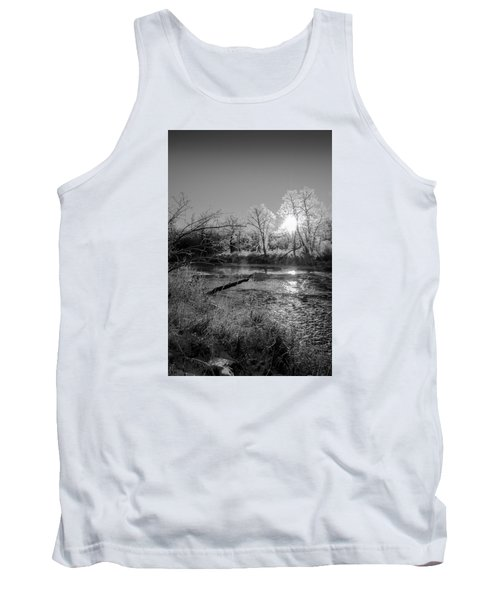 Tank Top featuring the photograph Rivers Edge by Annette Berglund