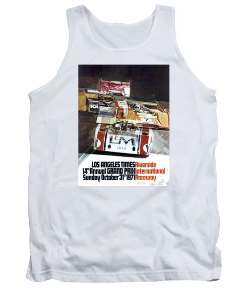 Riverside Can-am Tank Top by Peter Chilelli