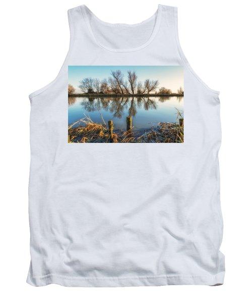 Riverside Trees Tank Top