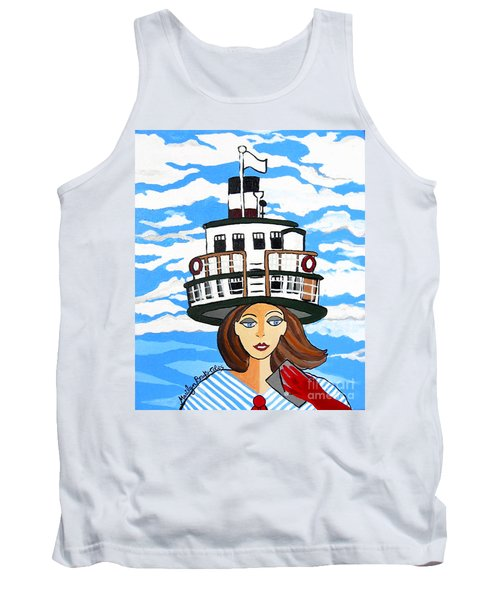 R.m.s. Segwun - Delivering The Mail  Tank Top