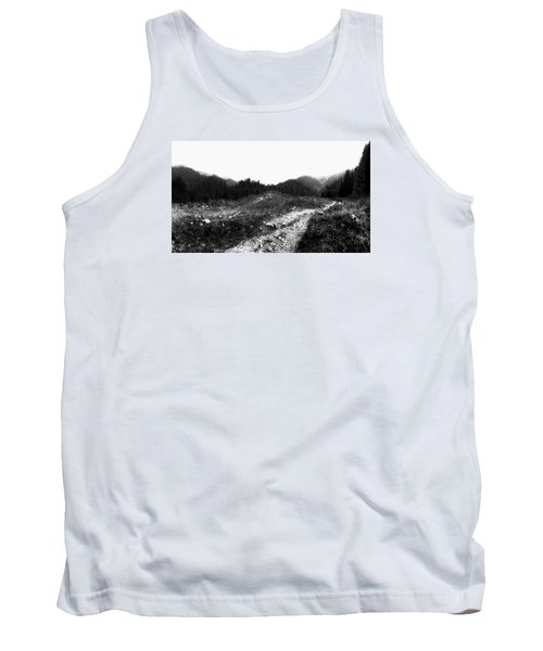 Tank Top featuring the photograph Road by Hayato Matsumoto