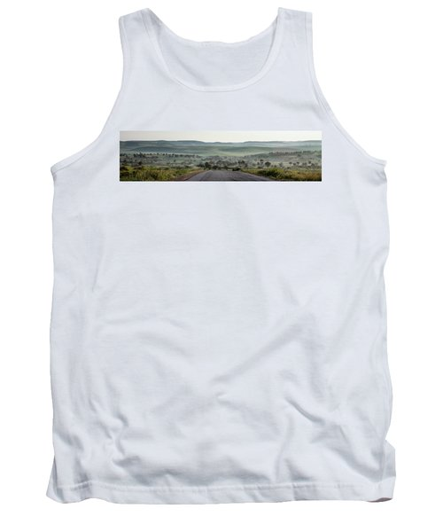 Road To The Forest Tank Top by Yoel Koskas