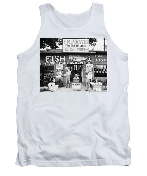 Roadside Stand Near Birmingham, Alabama Tank Top