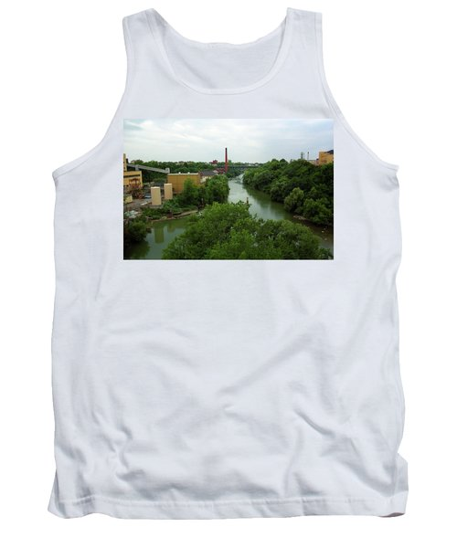 Rochester, Ny - Genesee River 2005 Tank Top by Frank Romeo