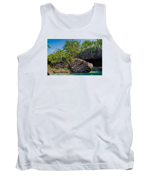 Rock And Trees Tank Top
