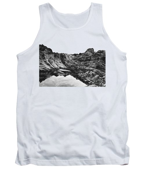 Tank Top featuring the photograph Rock by Rebecca Harman