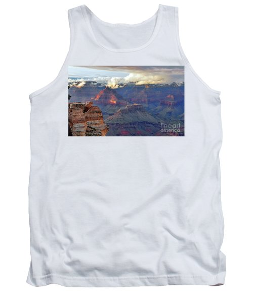 Rocks Fall Into Place Tank Top by Debby Pueschel