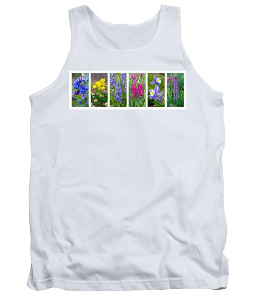 Rocky Mountain Wildflower Collection Tank Top