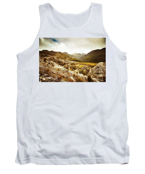 Rocky Valley Mountains Tank Top