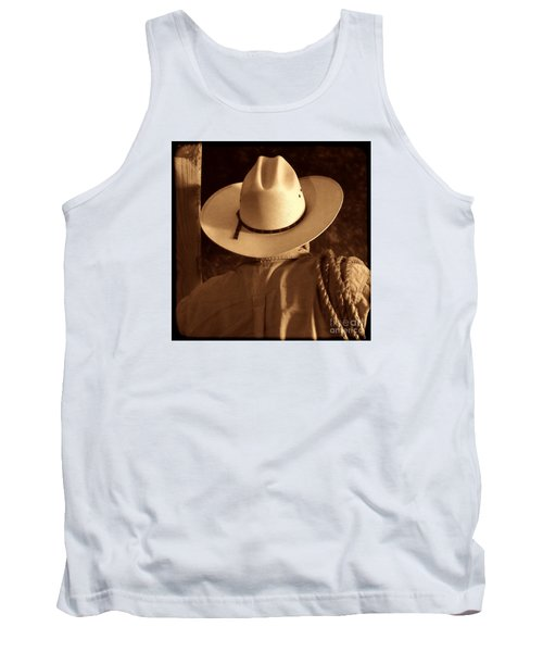 Rodeo Cowboy Tank Top by American West Legend By Olivier Le Queinec