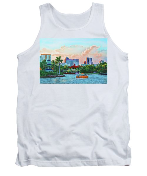 Rolling Down The New River Tank Top