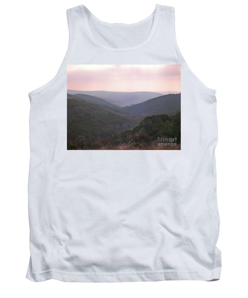 Tank Top featuring the photograph Rolling Hill Country by Felipe Adan Lerma