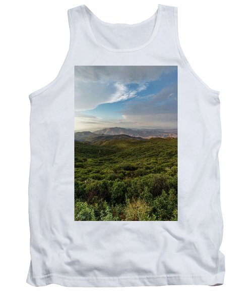 Rolling Hills Of Chaparral Tank Top