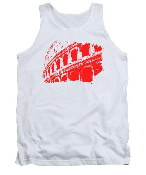 Roman Colosseum View Tank Top