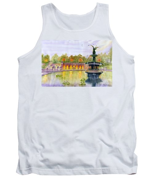 Romance At Central Park Nyc Tank Top
