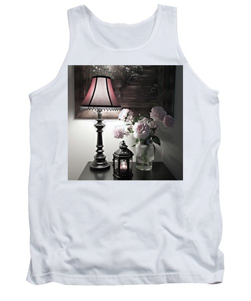 Tank Top featuring the photograph Romantic Nights by Sherry Hallemeier
