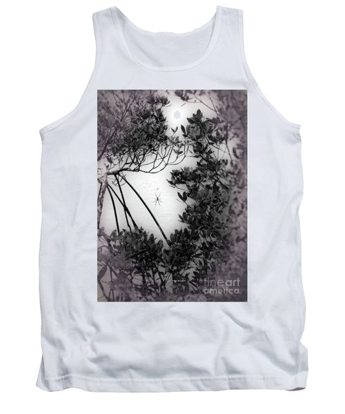Tank Top featuring the photograph Romantic Spider by Megan Dirsa-DuBois