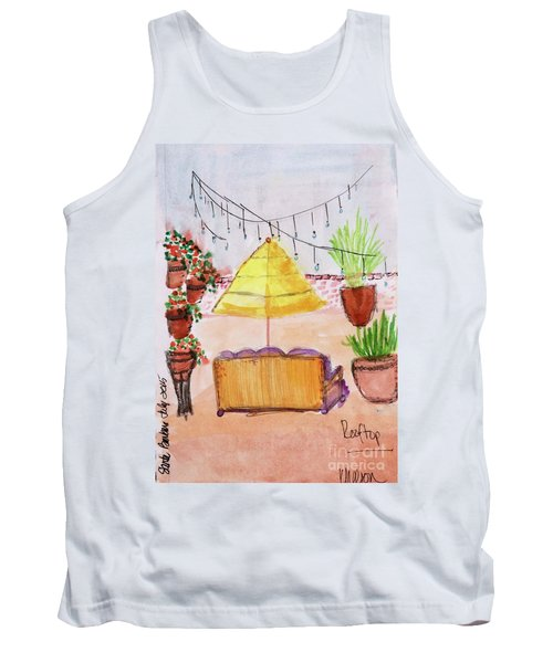 Rooftop At The Canary Tank Top