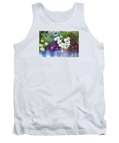 Tank Top featuring the painting Root Vegetables by Jeanette French