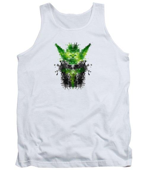 Rorschach Yoda Tank Top