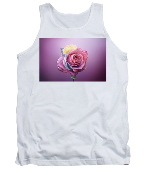 Rose Colorfull Tank Top