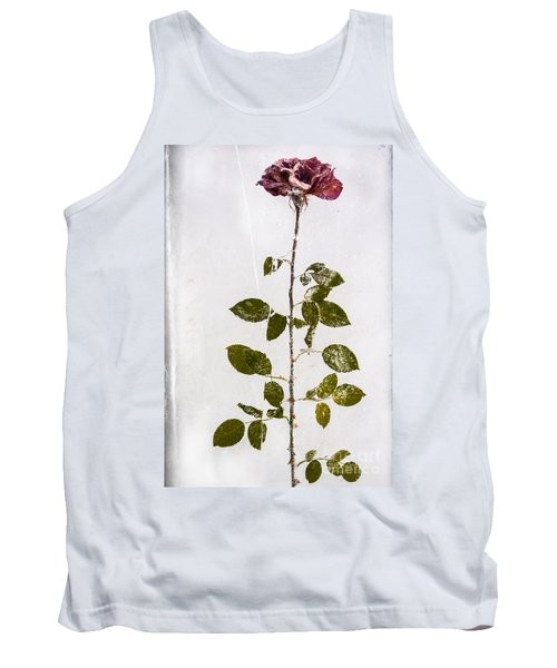 Rose Frozen Inside Ice Tank Top