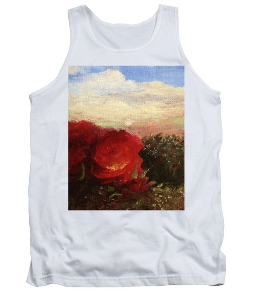 Rosebush Tank Top by Mary Ellen Frazee