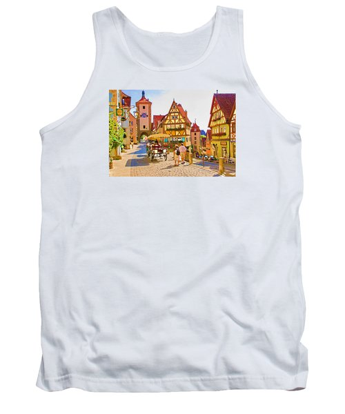Rothenburg Little Square Tank Top