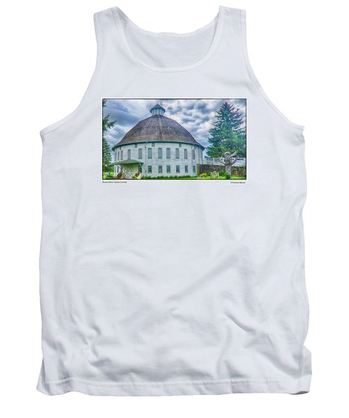 Round Barn, Adams County Tank Top by R Thomas Berner