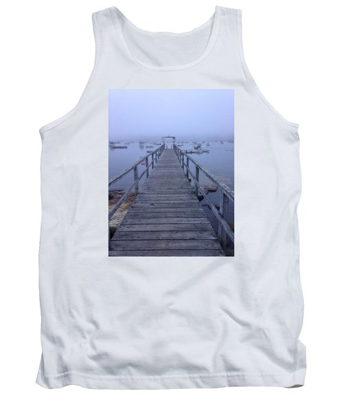 Tank Top featuring the photograph Round Pond by Olivier Calas