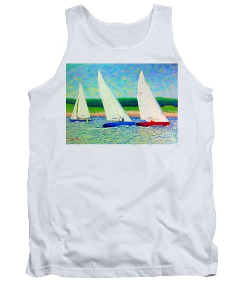 Rounding The Mark  Tank Top