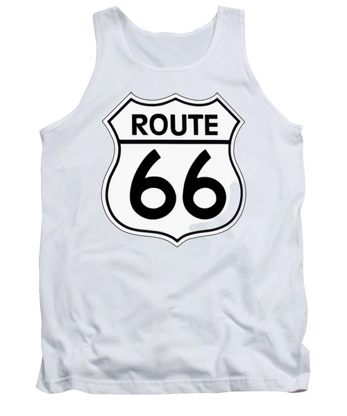 Route 66 Sign Tank Top