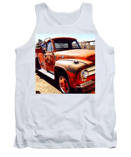 Route 66 Tank Top by Mark David Gerson