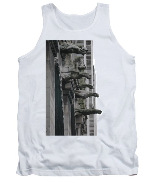 Row Of Gargoyles Tank Top