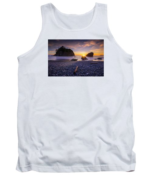 Tank Top featuring the photograph Ruby Beach Dreaming by Dan Mihai
