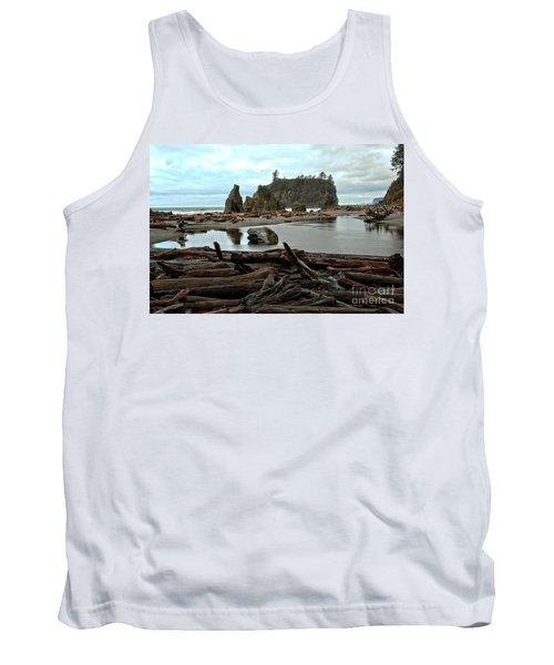 Ruby Beach Driftwood Tank Top