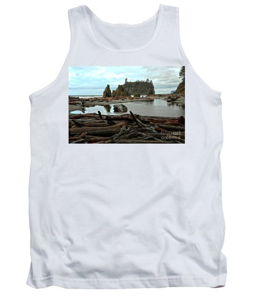 Ruby Beach Driftwood Tank Top