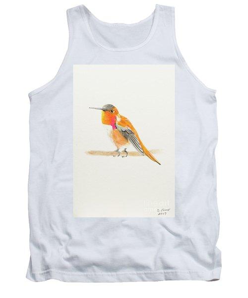Rufous Hummingbird Tank Top