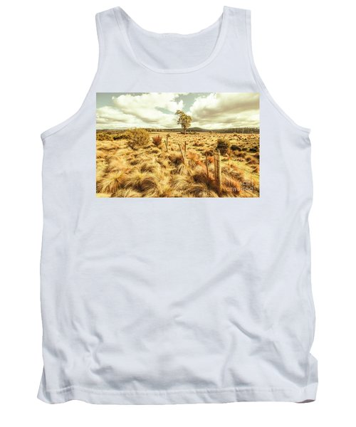 Rugged Australian Pastures Tank Top