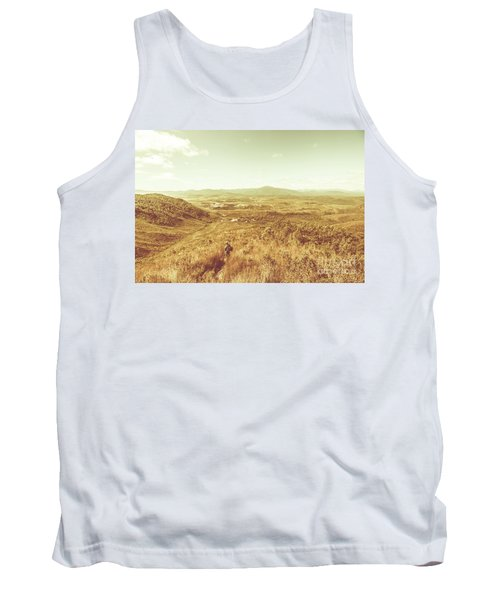 Rugged Bushland View Tank Top