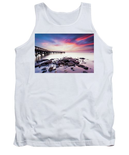 Tank Top featuring the photograph Run To The Sun by Edward Kreis