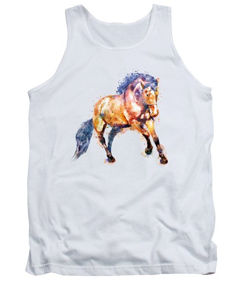 Running Horse Tank Top by Marian Voicu