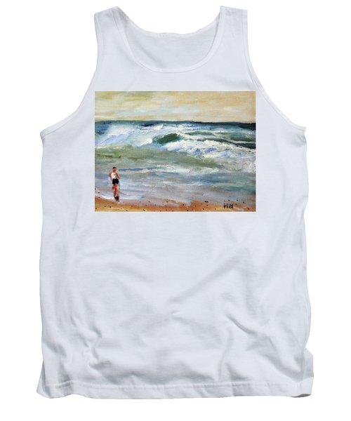 Running The Beach Tank Top